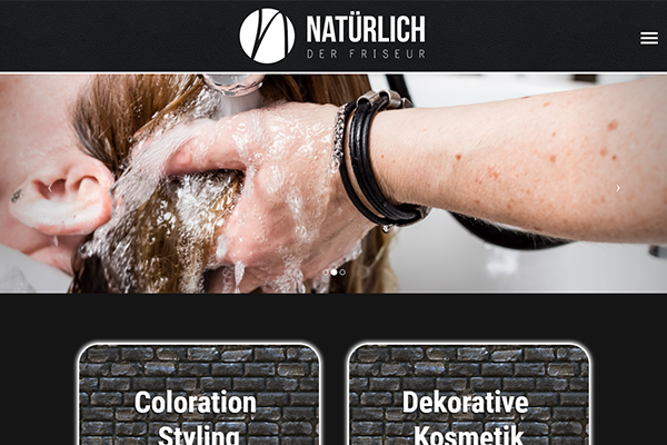 Natuerlich der Friseur Homepage