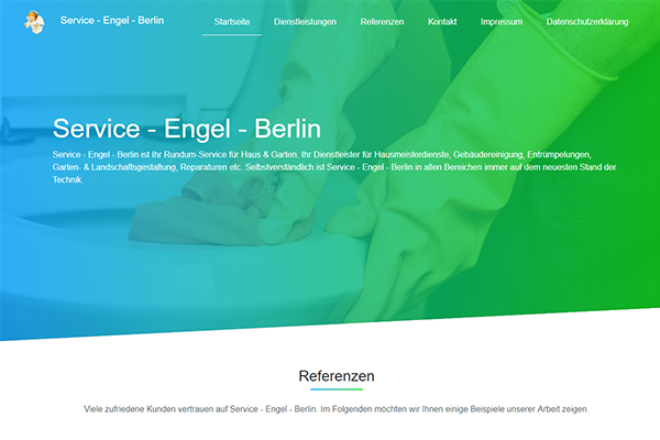 Service Engel Berlin Homepage